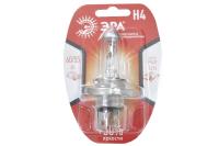 Лампа автомобильная Эра H4 12V 55W+50% P43t BL (для головного света)