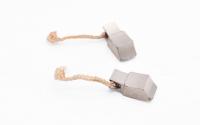 Меднографитовые щетки 8х9х22 поводок 36мм - медь (brush-1)