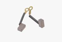 Меднографитовые щетки 6х8х12 поводок 28мм - медь (brush-9)
