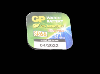GP SR66-1BL(R377,376,G4) серебро-цинк батарейка