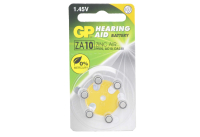 GP ZA10-6BL 1.4V 90mAh (для слуховых аппаратов)