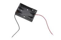 Батарейный отсек BH431 (CDMF) 3 x AAA 58 x 48.5 x 16.4