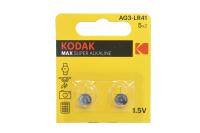 Kodak AG3 (392) LR736, LR41 батарейка