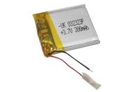 00-00015971 Аккумулятор 3.7V 300mAh 3.0x23x23mm универсальный с проводками