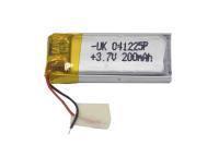 00-00015977 Аккумулятор 3.7V 200mAh 4.0x12x25mm универсальный с проводками