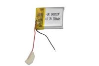 00-00015980 Аккумулятор 3.7V 200mAh 4.0x20x20mm универсальный с проводками