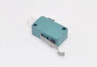 Микропереключатель KW7-0 (MSW-04) 250V 16A зеленый рычаг с загибом