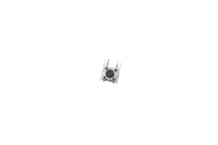 КНОПКА 2-pin  6x6x4.3 mm L=1mm KAN0631-0501, SW-772 (угловая) (№69)