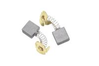 564 Электроугольная щетка 7х17х17 пружина, пятак-уши для Интерскол УШМ-2000Wt,ДП-2000Wt