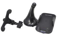 24914 Автомобильный держатель XO WX011 с функцией беспроводного ЗУ, QC3.0