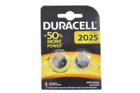 Duracell CR2025 lithium 3V (2023) батарейка