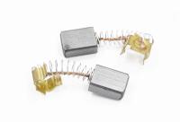 574 Электроугольная щетка 5х8х11 пружина, пятак-зацепы для Интерскол ДЭ-500ЭР (пара)