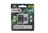 Карта памяти Fumiko microSDHC 64Gb Class10 с адаптером