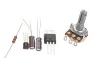 Конструктор регулируемый стабилизатор напряжения питания 5-12V