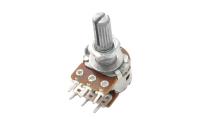 Резистор переменный 6pin(3+3) B50K d=16mm L=15mm стерео №2C