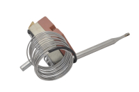Термостат капиллярный TR-124 30-110°C 250V 16A 2-pin (шток H-25мм длина трубки - 2.0м)