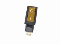 Переключатель KCD3-101N11CYK (KCD3) On-Off 250V 16A желтый (3c)