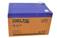 Аккумулятор HR12-12 Delta (12V 12A)