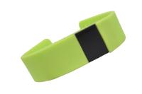 550151 Фитнес трекер Lime 102 green (шагомер, подсчет калорий, часы, будильник, зеленый ремешок)