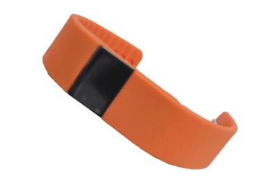 550144 Фитнес трекер Lime 102 orange (шагомер, подсчет калорий, часы, будильник, оранжевый ремешок)