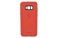 Накл. силикон SAM S8plus красный
