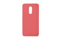 Чехол Silicon-SoftTouch Cover XIA RedMi Note5 красный