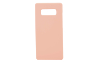 Silicon-SoftTouch Cover SAM Note8 розовый