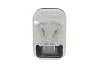 09091 Зарядное устройство Bios 220V + USB с дисплеем (лягушка)