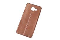 """Чехол """"хром кожа шов"""" Samsung Galaxy A710 ассортимент"""
