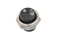 Кнопка PBS-26B Off-(On) черная без фиксации 36-3350