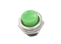 Кнопка PBS-26B Off-(On) зеленая без фиксации 36-3353
