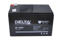 0314345 Аккумулятор DT1207 Delta (12V 7A)
