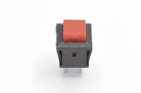 Кнопка PBS-15B (DS-430) Off-(On) красная 250V 1A без фиксации