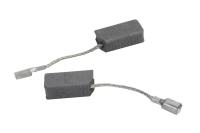 1619P11715 Комплект угольных щеток для УШМ Bosch, 15x7x5, проводок, клемма-мама
