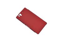 170403 Чехол-накладка Sony Xperia Z Elecom 12248 (красный)