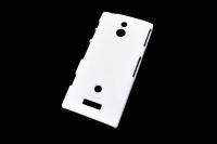 116188 Чехол KRUSELL ColorCover Sony Xperia  P White KS-89706