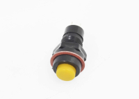 Кнопка DS-211 Off-On желтая 12V 1A с фиксацией