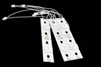 Элемент линейки светодиодов к LED TV 45x12mm 1шт 3-3.2V (для параллельного подключения)