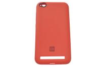 17010 Чехол Silicone case для Xiaomi Redmi 5A, красный