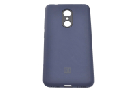 17007 Чехол Silicone case для Xiaomi Redmi 5, синий