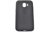 17140 Чехол Silicone case для Samsung J250/J2(2018), черный