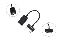Переходник USB 2.0 AF > Samsung Galaxy  0.15м черный 18-1183