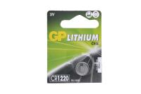 GP CR1220-5BL 3V батарейка