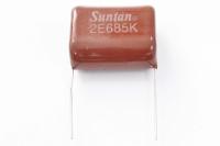 CAP  6.8mkF  250V 10% (685) CL21 металлопленка конденсатор
