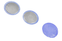 """02121301 Заплаты (пластыри) Patch Line"""" для холодной вулканизации камер, круглой формы 25мм, 3шт. (в гриппере)"""