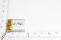 00-00024884 Аккумулятор 3.7V 400mAh 5.0x20x25mm универсальный с проводками