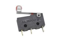 Микропереключатель для СВЧ печей 16mm Mini 3-pin с роликом (SIM)