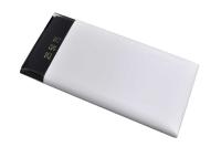 23881 Портативное зарядное устройство DA DT0002WE 10000mA-ч, 2USB 2A белый