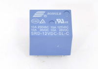 SRD-12VDC-SL-C Катушка 12V, одна группа, 10А 19,0х15,8х15,5 Реле