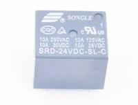 SRD-24VDC-SL-C Катушка 24V, одна группа, 10А 19,0х15,8х15,5 Реле
